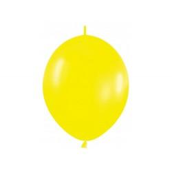 Link-o-loon balloon yellow, latex balloons, decorating balloons