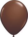 Brown standard latex balloons