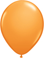 "12"" orange standard latex balloons"