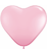 "12"" Heart latex balloons pink, latex balloons, helium balloons, balloon acccessories"