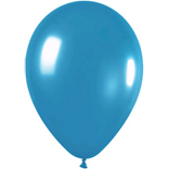 Metallic Teal latex balloon