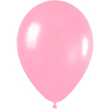 Metallic pink Latex balloons